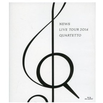 中古邦楽Blu-ray Disc NEWS / NEWS LIVE TOUR 2016 QUARTETTO [通常盤]