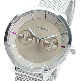 FURLA フルラ 腕時計 レディース R4253102531 METROPOLIS クォーツ ピンクベージュ シルバー