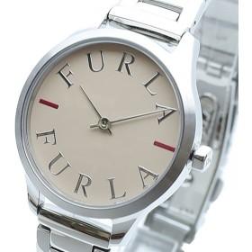 FURLA フルラ 腕時計 レディース R4253124504 LIKE LOGO クォーツ ベージュピンク シルバー