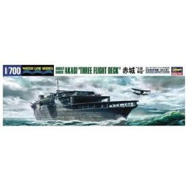"""ハセガワ WL220クウボアカギ3ダン 1/700 日本海軍 航空母艦 赤城 """"三段甲板"""""""