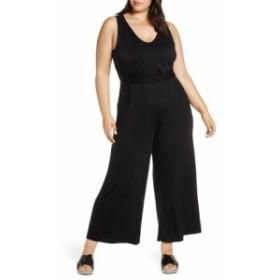 ボボウ BOBEAU レディース オールインワン ワンピース・ドレス Sleeveless Wide Leg Jumpsuit Black
