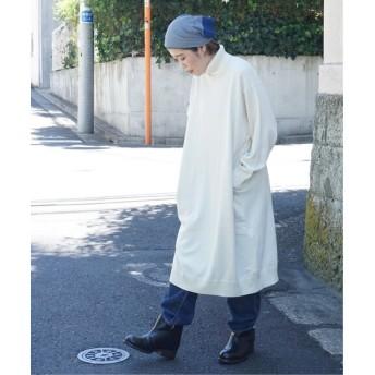 journal standard luxe コットン/シルク/カシミヤ タートルネックワンピース◆ ホワイト M