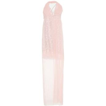 《セール開催中》FRANCESCA CONOCI レディース ロングワンピース&ドレス ピンク M ポリエステル 100%