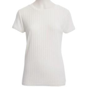 GeeRA 【S~L】選べるリブTシャツ L レディース 5,000円(税抜)以上購入で送料無料 カットソー Tシャツ 夏 レディースファッション アパレル 通販 大きいサイズ コーデ 安い おしゃれ お洒落 20代 30代 40代 50代 女性 トップス