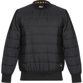 《セール開催中》SHOESHINE メンズ スウェットシャツ ブラック S ポリエステル 100%