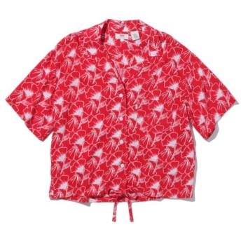 【50%OFF】 リーバイス PALOMA シャツ FLIPPED FLORAL BRILLIANT RED レディース REDS XS- 【Levi's】 【タイムセール開催中】