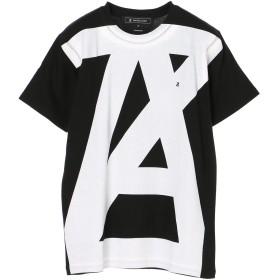 【6,000円(税込)以上のお買物で全国送料無料。】【ANREALAGE】AZ logo tee