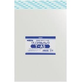 HEIKO OPP袋 テープ付き クリスタルパック T-A5 [6740910 T16-22.5]  6740910T1622.5 販売単位:1