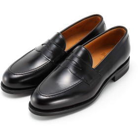 [Berwick] バーウィック 1707 ローファー トラッド 紳士靴 革靴 メンズ ブラック 9628 ダイナイトソール ROISレザー素材 グットイャー製法 スペイン製 (UK10.0, 黒)