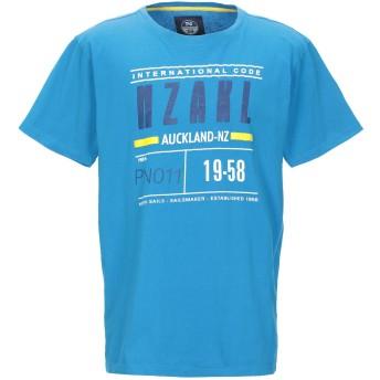 《9/20まで! 限定セール開催中》NORTH SAILS メンズ T シャツ アジュールブルー L コットン 100%