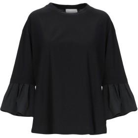 《期間限定セール開催中!》GOTHA レディース T シャツ ブラック XS コットン 73% / ナイロン 23% / ポリウレタン 4%
