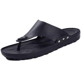 [Kg8d] トングサンダル メンズ 24.5cm~27.5cm サンダル トング オフィス コンフォート ビーチ フラット リゾート ビーサン 旅行 沖縄 プール リゾート 黒 白 ブラック 靴 春 夏 秋 ファッション カジュアル 海 レジャー ビーサン