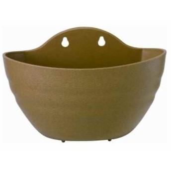 鉢・プランター コリーヌ壁掛 280×170×H190[3L ブラウン](ブラウン, 28型)