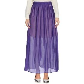 《セール開催中》CRISTINAEFFE COLLECTION レディース ロングスカート パープル 42 コットン 70% / シルク 30%