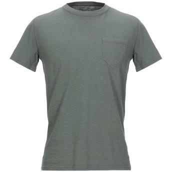 《セール開催中》BL'KER メンズ T シャツ グリーン XL コットン 100%
