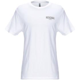 《期間限定セール開催中!》MOSCHINO メンズ T シャツ ホワイト XS コットン 100%