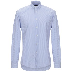 《期間限定セール開催中!》BRIAN DALES メンズ シャツ アジュールブルー 39 コットン 100%