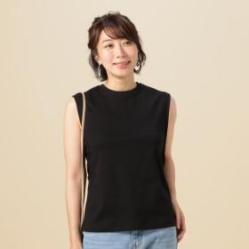 [マルイ]【セール】サイドガゼットノースリTシャツ/ドゥ アルシーヴ(Doux archives)