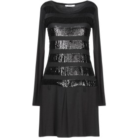《9/20まで! 限定セール開催中》LIU JO レディース ミニワンピース&ドレス ブラック XS ポリエステル / ポリウレタン