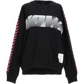 《期間限定セール開催中!》DIESEL レディース スウェットシャツ ブラック XS コットン 100%