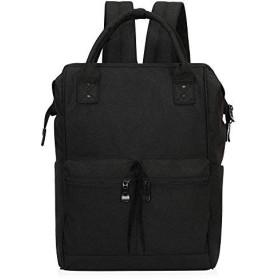 Veegul軽量学校バックパックトラベルバッグドクタースタイリッシュDaypacks用男性女性ブラック2