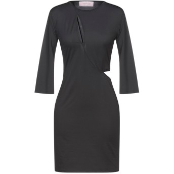 《セール開催中》TWENTY EASY by KAOS レディース ミニワンピース&ドレス ブラック XS ポリエステル 86% / ポリウレタン 14%