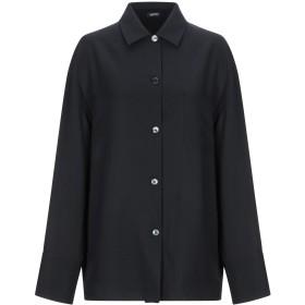 《期間限定 セール開催中》JIL SANDER NAVY レディース シャツ ブラック 36 レーヨン 70% / シルク 30%