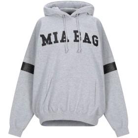 《期間限定セール開催中!》MIA BAG レディース スウェットシャツ グレー one size コットン 50% / ポリエステル 50%