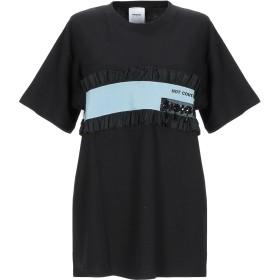《期間限定 セール開催中》BROGNANO レディース T シャツ ブラック S コットン 100%