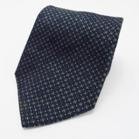 フェンディ シルク ネクタイ ブラック×グリーン 中古 Aランク FENDI | メンズ ビジネス