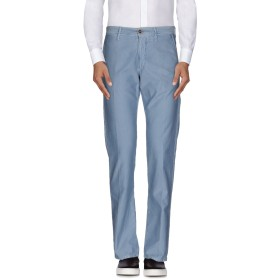 《期間限定 セール開催中》INCOTEX メンズ パンツ ブルーグレー 32 コットン 100%