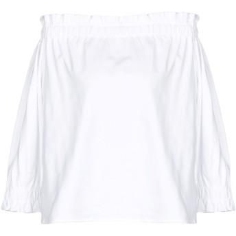 《セール開催中》EMPORIO ARMANI レディース T シャツ ホワイト 38 コットン 100%