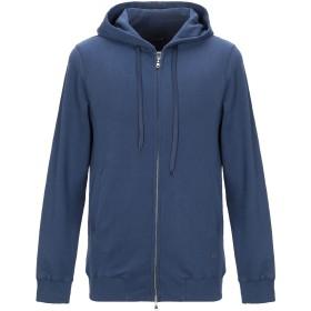 《期間限定 セール開催中》(+) PEOPLE メンズ スウェットシャツ ブルー S コットン 100%