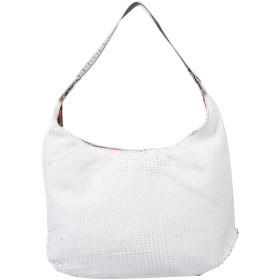 《期間限定 セール開催中》EBARRITO レディース 肩掛けバッグ ホワイト 革