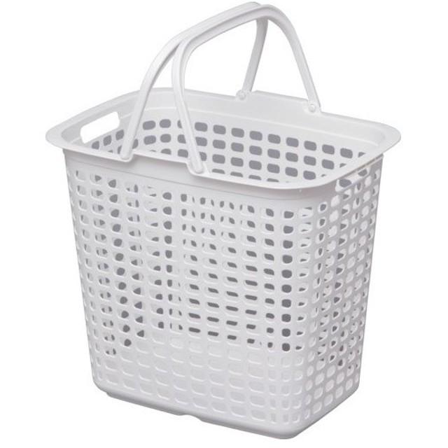 IRIS 227862ランドリーバスケット ピュアホワイト [LB-L-PWH]  LBLPWH 販売単位:1