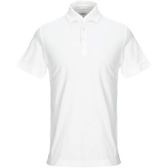 《セール開催中》MALO メンズ ポロシャツ ホワイト 46 コットン 100%