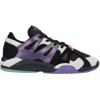 《セール開催中》ADIDAS ORIGINALS メンズ スニーカー&テニスシューズ(ローカット) ブラック 6 革 / 紡績繊維