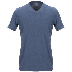 《セール開催中》MAJESTIC FILATURES メンズ T シャツ ブルーグレー M コットン 100%