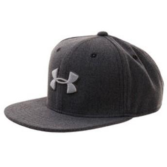 【Super Sports XEBIO & mall店:帽子】ボーイズ ハドル スナップバック2.0 AR#1318599 BLK/BLK/STL ACC