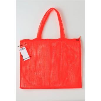 MOYO モヨウ moyo/ LAUNDRY BAG TOTE / ORANGE / ランドリーバッグ トート 52x40cm オレンジ トートバッグ,蛍光オレンジ