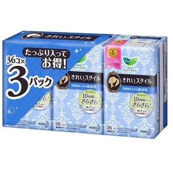 [花王]ロリエ きれいスタイル 無香料 36個×3パック