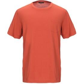 《期間限定 セール開催中》BELSTAFF メンズ T シャツ 赤茶色 M コットン 100%