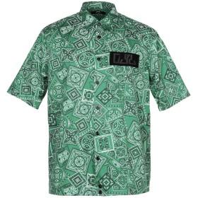 《期間限定セール開催中!》DIESEL メンズ シャツ グリーン S コットン 100%