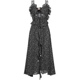 《9/20まで! 限定セール開催中》L'ATELIER de La Mode by PATRICIA FORGEAL レディース 7分丈ワンピース・ドレス ブラック S ポリエステル 80% / レーヨン 20%