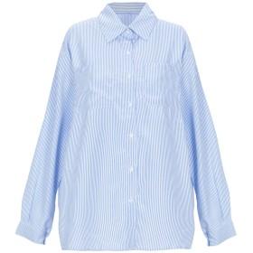 《セール開催中》BRIGITTE BARDOT レディース シャツ ブルー 0 コットン 100%