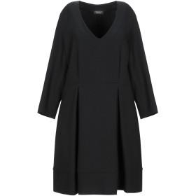 《セール開催中》TWINSET レディース ミニワンピース&ドレス ブラック L ポリエステル 52% / ウール 43% / ポリウレタン 5%