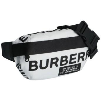 バーバリー BURBERRY  ミディアム ロゴプリント バムバッグ ショルダーバッグ ベルトバッグ ウエストポーチ 8015143
