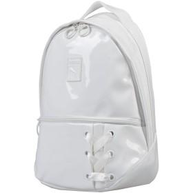 《期間限定セール開催中!》PUMA レディース バックパック&ヒップバッグ ホワイト ポリウレタン 80% / ポリエステル 20%