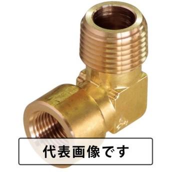 ASOH 異径内・外エルボ PT3/8外×PT1/4内 [LK-1032] LK1032 販売単位:1