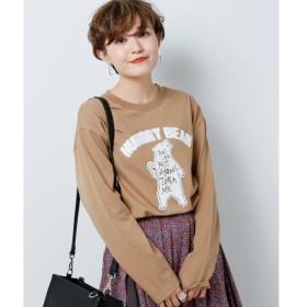 [マルイ]【セール】さがら刺繍ロンT/ダブルネーム(DOUBLE NAME)